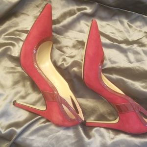 Ivanka Trump Shoes - Ivanka Trump Suede Pumps